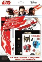 NEW Disney sealed Star Wars fun pack sticker decal sheets posters tattoo album