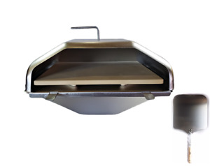 GMG Daniel Boone & Jim Bowie Pizza Oven Attachment W/Pizza Peel, GMG-4023, OEM