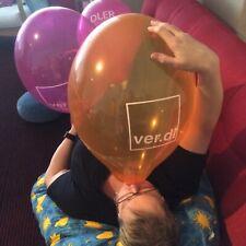 """10 große ver.di Werbe-Luftballons, Balloons, Palloncini, Globos, Belbal 14"""""""