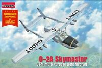 Roden 620 - 1/32 - Cessna O-2A Skymaster US Civil aircraft model kit