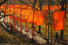 Christo the Gates Central Park New York Offsetdruck