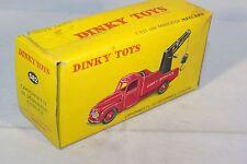 DINKY TOYS 582 CITROEN CAMIONNETTE DE DEPANNAGE EMPTY BOX RARE SELTEN RARO!