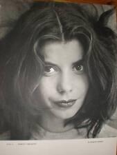La actriz Margit Carlquist R Winquist Fotografía Impreso 1954