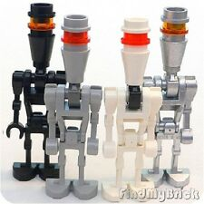 R7 Lego Star Wars 4x Different IG-88 Assassin Droid Minifigures - Very RARE -NEW
