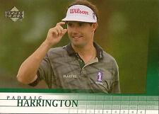 (100) 2001 UD Golf Padraig Harrington #18 RC Mint
