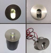 SEGNA PASSO TONDO MINI SPOT LED - ORIENTATO uso interno da 1 W - luce  fredda