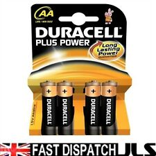 100 DURACELL Plus AA MN1500 LR6 Batteries 1.5V ALKALINE 25 PACKS 4