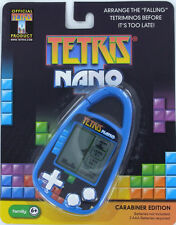 TETRIS Nano Handheld Electronic GAME Clip-on Carabiner Basic Fun 80'sTetriminos