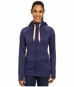 Women's The North Face Suprema Full Zip Drawstring Hoodie Patriot Blue XL