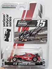 Greenlight 2017 Indy 500 Graham Rahal Autographed Signed 1:64 Scale COA