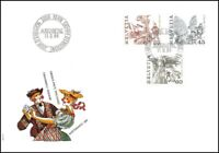 FDC Suisse - Timbres poste ordinaires 11.9.1984