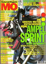 MO 02/98, BUELL S1, SUZUKI Intruder 1500 LC, Bandit 1200, KTM LC4, KAWASAKI ZX9R