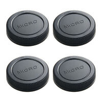 4*micro m 4/3 camera rear lens cap cover for Olympus Panasonic replacement