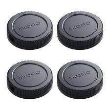 4*micro m 4/3 camera rear lens cap cover for Olympus Panasonic replacement
