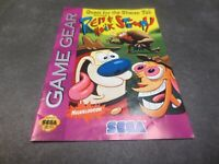 Quest for the Shaven Yak starring Ren & Stimpy (Sega Game Gear, 1994) Manual