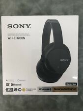 Sony WH-CH700N Bluetooth Noise Canceling Wireless Headphones - Black (BRAND NEW)
