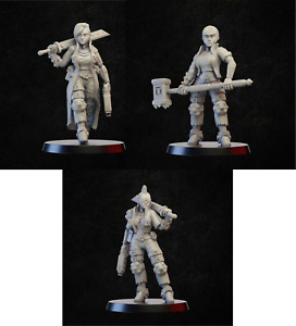 Cyberpunk Ladies  Onmioji  28mm 32mm multi listing