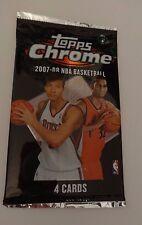 2007 - 08 Topps Chrome Basketball Hobby Pack - Durant RC Year
