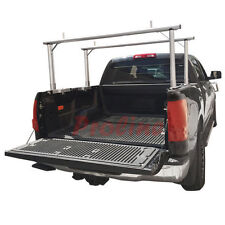 Universal ALUMINUM Truck Pick Up Rack Ladder Utility ADJUSTABLE Carrier 400 LB