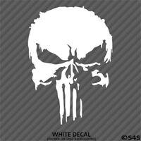 New Marvel Punisher Skull Vinyl Decal Sticker - Choose Color/Size