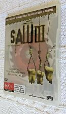 SAW III – DVD-UNCUT VERSION, R-4, LIKE NEW, FREE POST WITHIN AUSTRALIA