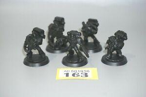 Warhammer 40k Space Marine Devastator Squad x 5 - LOT 163