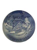 B & G Bing Grondahl Copenhagen Porcelain Denmark Christmas Plate Jule After 1964