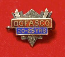 Vintage DOFASCO (Hamilton, Ontario) 20-25 YEARS PINBACK - 10K Gold - 12x10mm