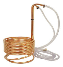 "NY Brew Supply 25' Copper Wort Chiller 3/8"" - High Quality Immersion Chiller"