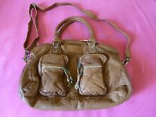 NEU echte Leder-Handtasche Axel David Vintage NEU