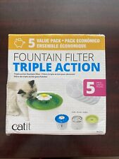 New listing Catit 43746 Cat Water Fountain Replacement Filters - White