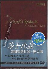 BBC Shakespeare Collection 4 Henry  IV V Richard II King John TAIWAN DVD BOX SET