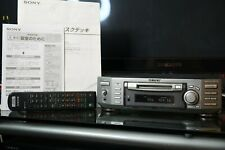 Sony Mds-S50 Md Mdlp MiniDisk Component Deck w/ Remote,Manual~As-Is Japan Import