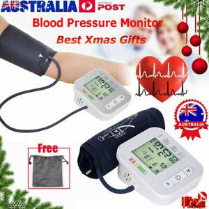 Latest Digital Upper Arm Blood Pressure Monitor Meter Intellisense 180 Memory AU