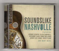 (HZ696) Sounds Like Nashville, 19 tracks various artists - 2015 CD
