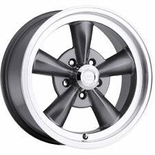4 - 17x8 Gunmetal Vision Legend 5 Wheel 5x4.5 (5x114.3) +0 Offset 141H7865GM0