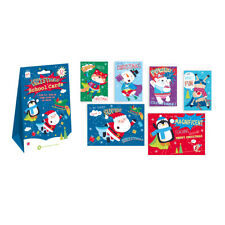 Christmas School Cards 32 Pack - Friends Teacher - Super Magnificent Snowtastic