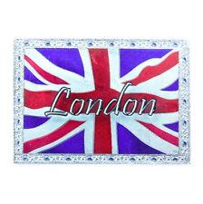 London Union Jack Flagge Laser Metall Magnet Souvenir England,Great Britain