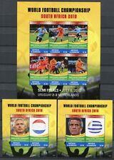 ANTIGUA 2010 Fußball WM Soccer FIFA Südafrika 4827-4832 + Blocks 670-671 ** MNH