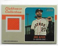 2019 Topps heritage baseball Clubhouse collection relic CCR-JAL Jose Altuve