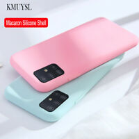 For Samsung Galaxy A72 A52 A71 A51 5G UW Silicone Rubber TPU Thin Gel Case Cover