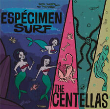 CD - The Centellas, Especimen Surf, surf music from Mexico