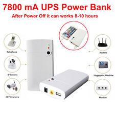 Uninterrupt Power Supply UPS 12V 7800mAh Battery For CCTV System Modem Computer
