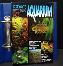 "[49629] 1985/86 ""TODAY'S AQUARIUM"" MAGAZINES BOUND 7 ISSUES & BINDER"