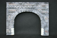 V365 Train diorama Ho Entree tunnel double platre peinture 115mm *h100mm pierre