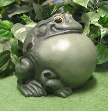 Smooth Fat Chubby Frog Toad Amphibian Latex Fiberglass Production Mold Concrete