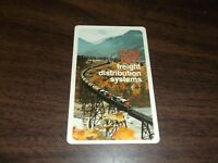 1973 CANADIAN NATIONAL/GRAND TRUNK EMPLOYEE/PUBLIC LAMINATED POCKET CALENDAR
