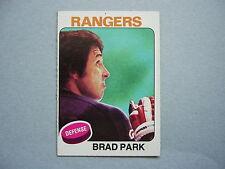 1975/76 TOPPS NHL HOCKEY CARD #260 BRAD PARK NM SHARP!! 75/76