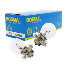 2 x Ampoule de lampe Bosma P26s 12V 25W Premium lampe boule pour phares etc