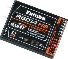 FUTABA R6014HS 2.4GHZ FASST RC AIRPLANE HELI RECEIVER RX FUTL7645 14SG 14 SG